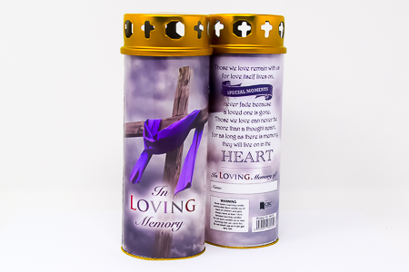 Pillar Candle - Loving Memory.