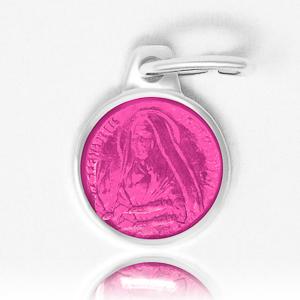 Pink Bernadette Medal.