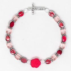 One Decade Miraculous Rosary Bracelet.