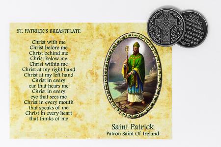 Saint Patrick Pocket Token.