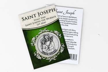 St Joseph Pocket Token.
