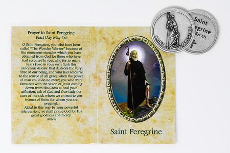 Pocket Token - Saint Peregrine.