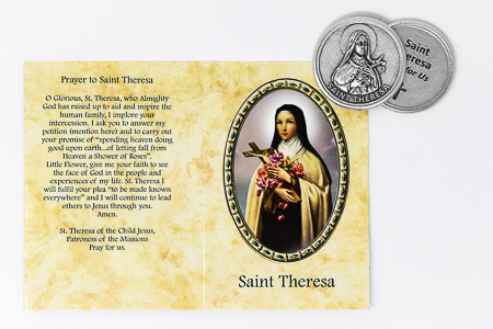 Saint Theresa Pocket Token