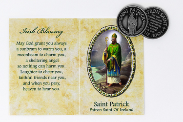 Saint Patrick Pocket Token.