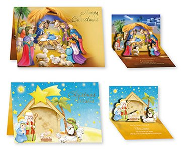 Pop Up Christmas Cards.