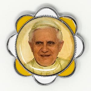 Pope Benedict 16th Car Plaque.