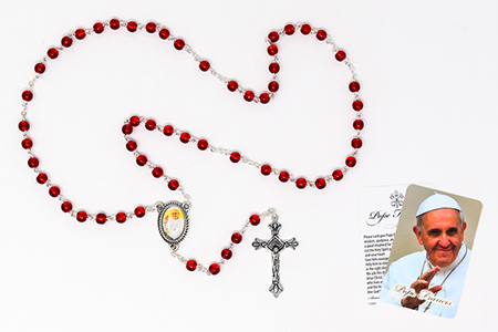 Pope Francis Rosary Beads.