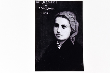1858 Authentic Portrate of St Bernadette.