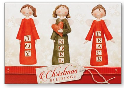 Post A Christmas Plaque Peace Joy Noel.