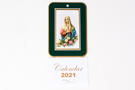 2021 Calendar Immaculate Heart of Mary.