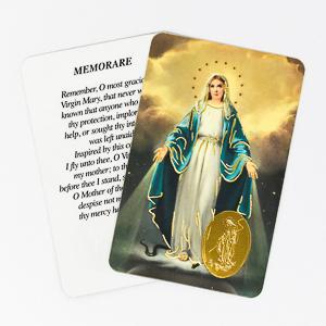 Prayer Card - Miraculous.