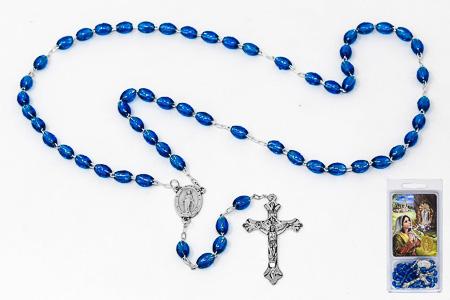 Prayer Card Set & Lourdes Rosary.