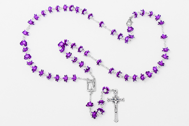 Miraculous Medals Rosary.