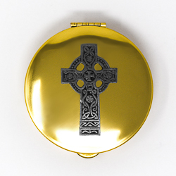 Pyx with Celtic Design.