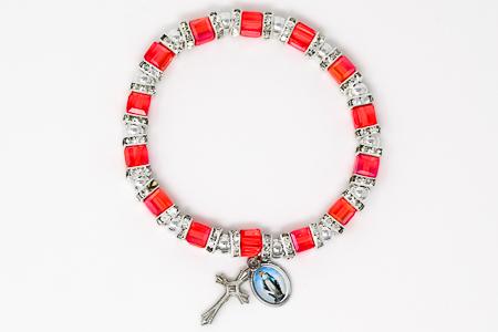 Miraculous Red Crystal Bracelet.