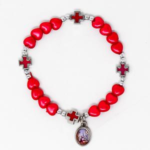 Single Decade Rosary Bracelet.
