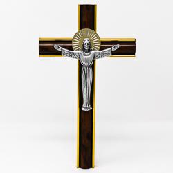 Risen Christ on a Cross.