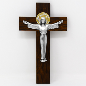 Risen Christ on a Cross.