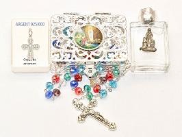 Lourdes 925 Sterling Silver Gift Set.