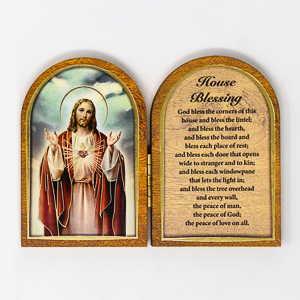 House Blessing Wall Plaque.
