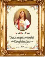 Sacred Heart of Jesus Picture.