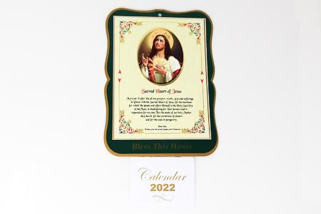 Sacred Heart of Jesus Calendar 2022
