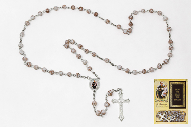 Novena Book & St. Anthony Rosary Beads.
