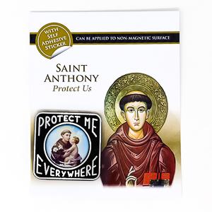 Saint Anthony Car Plaque.