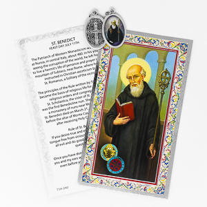 St.Benedict  Medal.