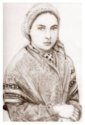 Bernadette Soubirous Prayer Card..
