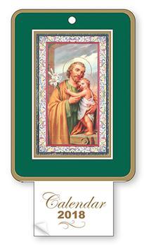 Saint Joseph Calendar 2018