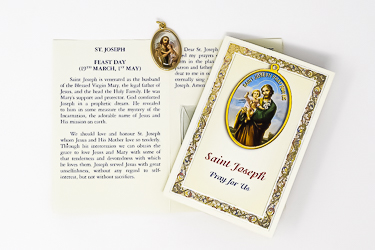 St Joseph Prayer Leaflet.