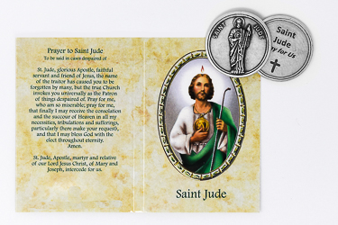 Saint Jude Pocket Token.