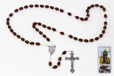 Prayer Card Set & Saint Peregrine Rosary.