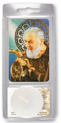 Saint Pio Votive Candle.