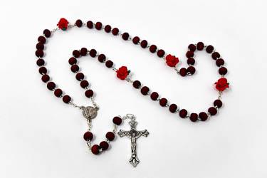Saint Pio Perfumed Rosary.