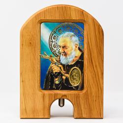 St. Pio Holy Water Dispenser.