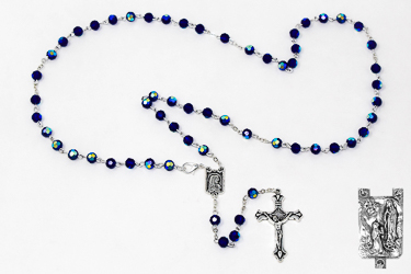 Rosary with Strass Crystal Beads