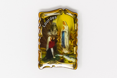 Scroll Magnet of the Lourdes Apparitions.