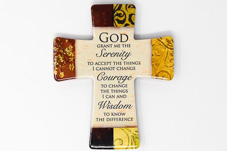 Serenity Porcelain Cross.