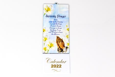 Serenity Calendar 2022.