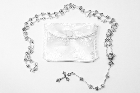 First Communion Rosary .