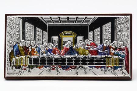 Last Supper Plaque.