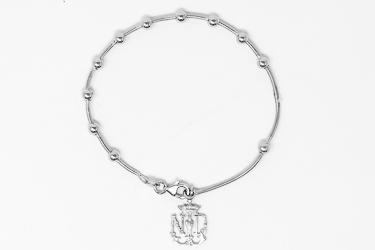 Lourdes Apparition Emblem Bracelet.