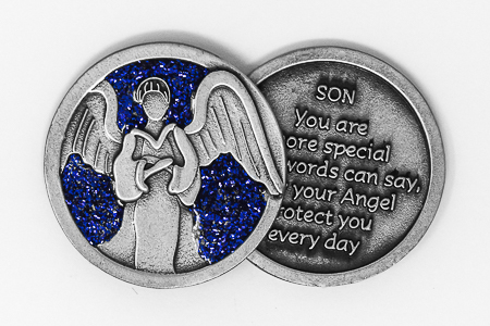 Guardian Angel Son Pocket Token.