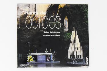 Songs of Lourdes CD