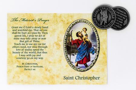 St.Christopher Pocket Token.