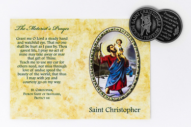 St.Christopher Pocket Token.