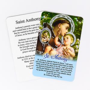 St. Anthony Prayer Card & Medal