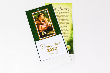 St. Anthony Standing Calendar 2022.